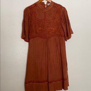 Anthropologie Dress Meadow Rue EUC